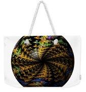 Abstract Globe Weekender Tote Bag