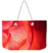 Abstract Orange Rose 10 Weekender Tote Bag