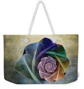 Abstract Rose Weekender Tote Bag