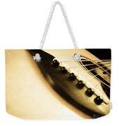 Acoustic Guitar Weekender Tote Bag