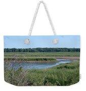 Across The Water Weekender Tote Bag