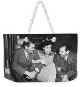 Actress Joan Crawford Weekender Tote Bag