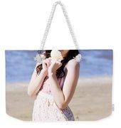 Adorable Seaside Girl Weekender Tote Bag