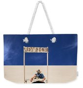 Advice Weekender Tote Bag