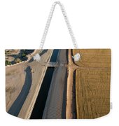 Aerial Border Patrol On The U.s.mexico Weekender Tote Bag