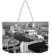 Aerial Of Downtown Tampa And Harbour Island Weekender Tote Bag