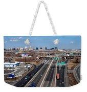 Aerial Over Newark Weekender Tote Bag