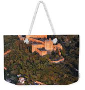 Aerial Photo  Alhambra And Albaycin In Granada Weekender Tote Bag