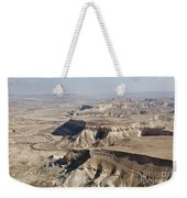 1-aerial Photography Of The Negev  Weekender Tote Bag