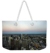 Aerial View Of Melbourne Weekender Tote Bag