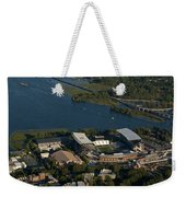 Aerial View Of The New Husky Stadium Weekender Tote Bag