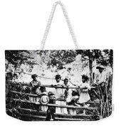 African American Children Weekender Tote Bag