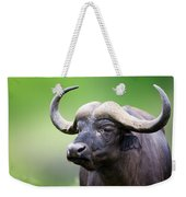 African Buffalo Portrait Weekender Tote Bag