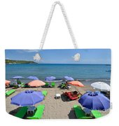 Agia Marina Beach Weekender Tote Bag