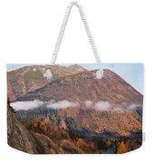 Alaskan Mountains Weekender Tote Bag