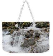 Alaskan Waterfall Weekender Tote Bag