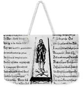 Albrecht Von Wallenstein (1583-1634) Weekender Tote Bag