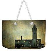 Alcatraz Island Lighthouse Weekender Tote Bag
