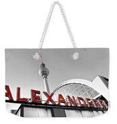 Alexander Platz - Berlin Weekender Tote Bag