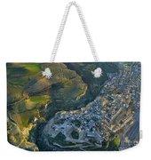 Alhama De Granada From The Air Weekender Tote Bag
