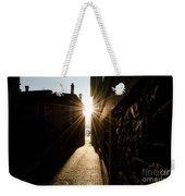 Alley In Backlight Weekender Tote Bag