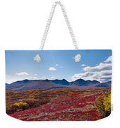 Alpine Landscape In Fall Weekender Tote Bag