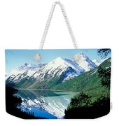 Altai Mountains Weekender Tote Bag by Anonymous