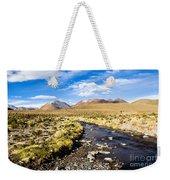 Altiplano In Bolivia Weekender Tote Bag