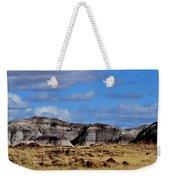 Amber Waves Of Grain And Purple Mountains Weekender Tote Bag