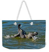 American Coots Fighting Weekender Tote Bag
