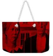 American Gothic In Red Weekender Tote Bag