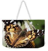 American Lady Butterfly Weekender Tote Bag