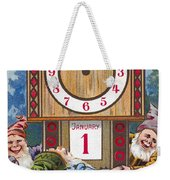 American New Years Card Weekender Tote Bag