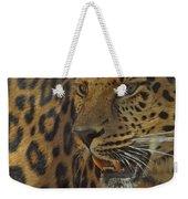 Amur Leopard 1 Weekender Tote Bag