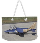 An Alpha Jet Of The Portuguese Air Weekender Tote Bag