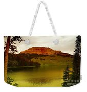 An Alpine Lake Weekender Tote Bag