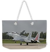 An F-15b Baz Of The Israeli Air Force Weekender Tote Bag