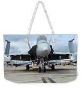 An Fa-18d Hornet On The Ramp At Marine Weekender Tote Bag