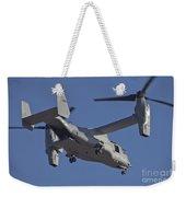 An Mv-22b Osprey Prepares For Landing Weekender Tote Bag