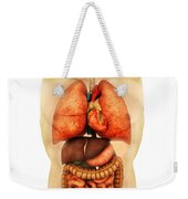 Anatomy Of Human Body Showing Whole Weekender Tote Bag