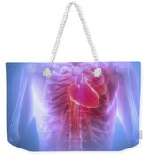 Anatomy Of The Chest Weekender Tote Bag