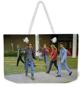 And I Looked Down At My Shoes Weekender Tote Bag