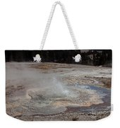 Anemone Geyser In Upper Geyser Basin Weekender Tote Bag