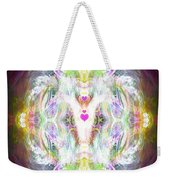 Angel Of Positive Thoughts Weekender Tote Bag