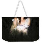 Angel Sitting In The Darkness Weekender Tote Bag