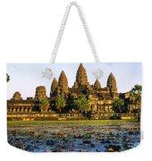 Angkor Wat At Sunset - Cambodia Weekender Tote Bag