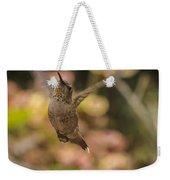 Anna's Hummingbird Weekender Tote Bag