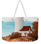 Annisquam Lighthouse Weekender Tote Bag