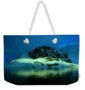 Antarctic Fiord Weekender Tote Bag