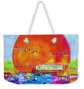 Antique Cars At The Julep Weekender Tote Bag